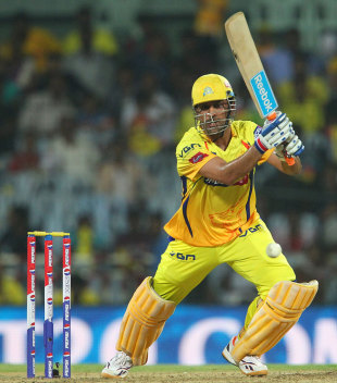 MS Dhoni's unbeaten 58 set up Chennai Super Kings' 33-run win over Delhi Daredevils