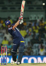 Johan Botha strikes the ball down the ground, Chennai Super Kings v Delhi Daredevils, IPL 2013, Chennai, May 14, 2013