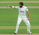 Liam Plunkett appeals for one of his five wickets, Warwickshire v Yorkshire, County Championship, Division One, Edgbaston, 1st day, May, 15, 2013