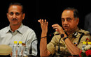 Delhi Police Commissioner, Neeraj Kumar, addresses the media on the IPL spot-fixing scandal