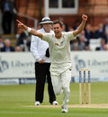 Trent Boult celebrates removing Jonathan Trott, England v New Zealand, 1st Investec Test, Lord's, 1st day, May 16, 2013
