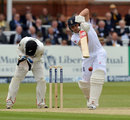 Jonathan Trott drives on his way to 39