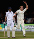 Neil Wagner was delighted to get rid of Ian Bell, England v New Zealand, 1st Investec Test, Lord's, 1st day, May 16, 2013
