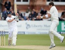 Tim Southee holds on to a sharp return chance off Johnny Bairstow, England v New Zealand, 1st Investec Test, Lord's, 2nd day, May 17, 2013