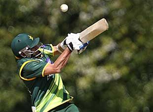Misbah-ul-Haq made an unbeaten 83 in Pakistan's big win over Scotland in Edinburgh