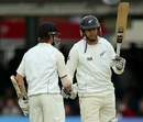 Ross Taylor raises his bat after getting to his fifty, England v New Zealand, 1st Investec Test, Lord's, 2nd day, May 17, 2013
