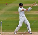 Kane Williamson punishes one over point, England v New Zealand, 1st Investec Test, Lord's, 3rd day, May 18, 2013