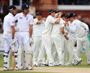New Zealand celebrate but Alastair Cook survived the review, England v New Zealand, 1st Investec Test, Lord's, 3rd day, May 18, 2013