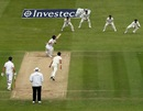 Alastair Cook watches the ball fly to the fielder, England v New Zealand, 1st Investec Test, Lord's, 3rd day, May 18, 2013