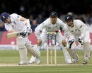 Joe Root flicks one to the leg side, England v New Zealand, 1st Investec Test, Lord's, 3rd day, May 18, 2013