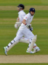 Joe Root and Jonathan Trott put together a solid stand as England built a lead on the third afternoon