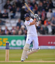 Joe Root play some confident strokes on his way to fifty