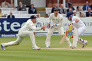 Ian Bell came off his sickbed to try and close out the day, England v New Zealand, 1st Investec Test, Lord's, 3rd day, May 18, 2013