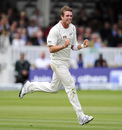 Tim Southee became only the second New Zealand bowler to take ten wickets at Lord's, England v New Zealand, 1st Investec Test, Lord's, 4th day, May 19, 2013