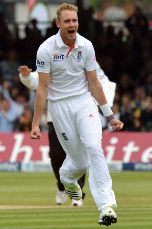 Stuart Broad was rampant during an 11-over spell broken only by lunch