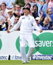 Joe Root roars after catching Tim Southee on the boundary