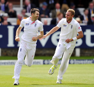 James Anderson and Stuart Broad were all England needed in the second innings as New Zealand were hammered at Lord's