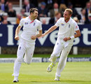 James Anderson and Stuart Broad were all England needed in the second innings