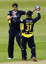 Chris Wood and Adam Wheater combined to stump Ben Stokes, Hampshire v Durham, Yorkshire Bank 40, Ageas Bowl, May 19, 2013