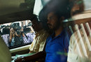 Sreesanth leaves a court in Delhi