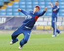 Joe Root misses a chance in practise