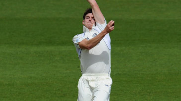 Toby Rolland-Jones went wicketless on day one