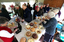 Afternoon tea is served in the Ladies Pavilion, Worcestershire v Gloucestershire, County Championship, Division Two, New Road, 1st day, May, 22, 2013