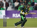 Nasir Jamshed made 15 before retiring hurt
