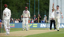 Steve Magoffin had Marcus Trescothick caught behind to begin the collapse
