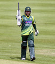 Mohammad Hafeez scored his fifth ODI century