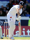 Alastair Cook turns one to the on side, England v New Zealand, 2nd Investec Test, Headingley, 2nd day, May 25, 2013