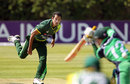 Asad Ali in his delivery stride, Ireland v Pakistan, 2nd ODI, Dublin, May 26, 2013