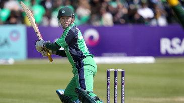 Niall O'Brien plays one fine to third man