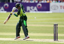 Imran Farhat edges it to Kevin O'Brien at second slip, Ireland v Pakistan, 2nd ODI, Dublin, May 26, 2013