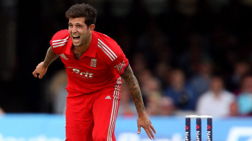 Jade Dernbach's opening spell proved expensive