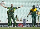 Asad Ali took the big wicket of AB de Villiers, Pakistan v South Africa, Champions Trophy warm-up, The Oval, June 3, 2013