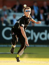 Max Waller removed Joe Denly for 31, Middlesex v Somerset, YB40 Group C, Lord's, June 4, 2013