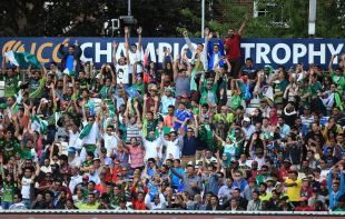 Pakistan fans in full cry, West Indies v Pakistan, Champions Trophy, Group B, The Oval, June 7, 2013