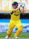George Bailey played a lone hand for Australia, England v Australia, Champions Trophy, Group A, Edgbaston, June 8, 2013