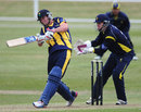 Chris Cooke fell two short of a century, Unicorns v Glamorgan, Yorkshire Bank 40, Group C, Southend, June, 9, 2013
