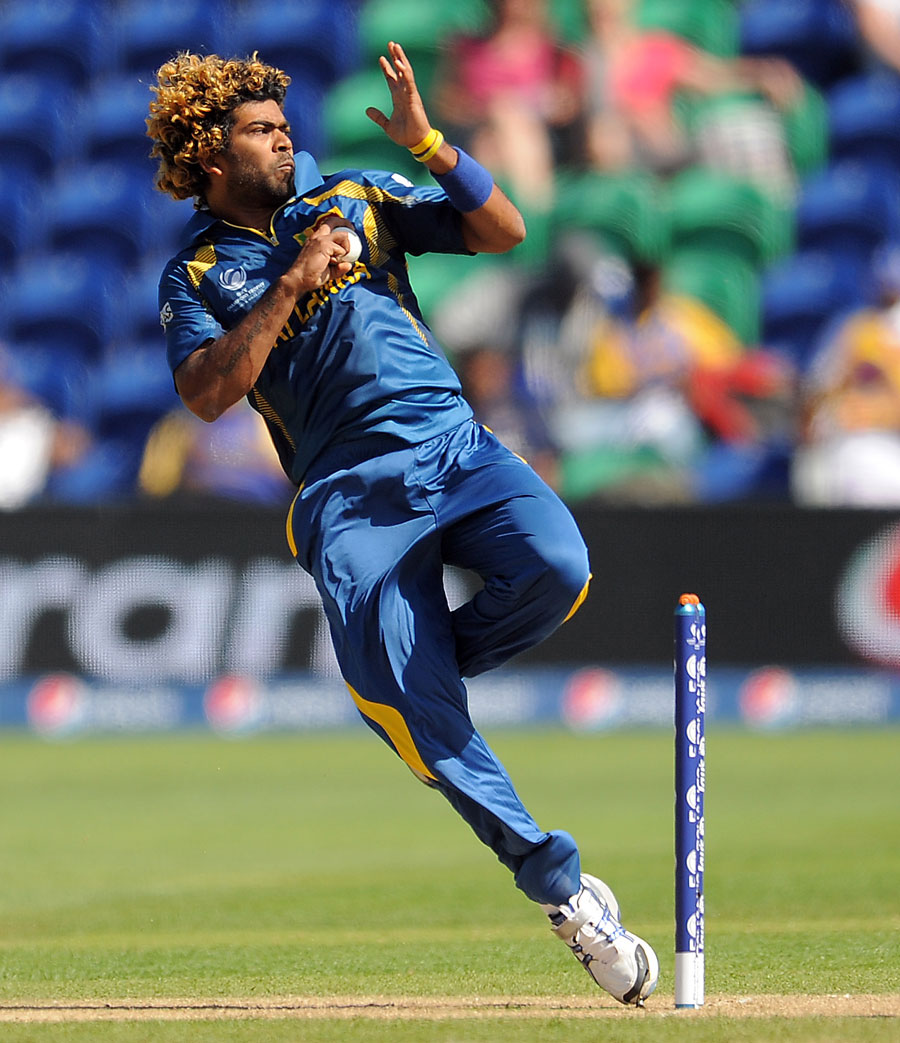 Lasith Malinga was in inspired form | Photo | ICC Champions Trophy |  ESPNcricinfo.com