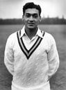 Khalid Hassan played one Test for Pakistan at the age of 16, May 5, 1954