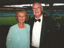 Brian and Judy Booth at the SCG, Sydney, October, 2011