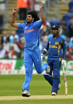 Ishant Sharma exploited the steep bounce and seam movement well