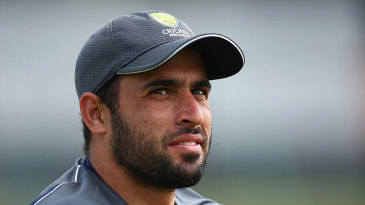 Fawad Ahmed prepares for the match against Gloucestershire
