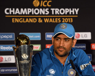 MS Dhoni rarely gets flustered even when the big prize is on offer ...