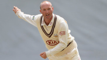 Gary Keedy sent down 22 overs in a rare appearance