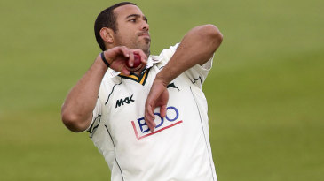 Andre Adams claimed the first wicket