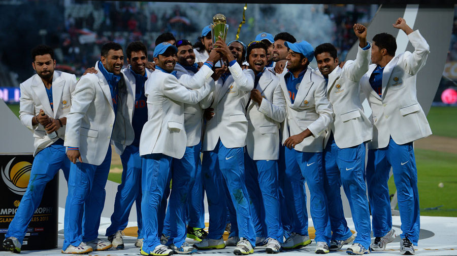 India's cricket team to participate in Champions Trophy