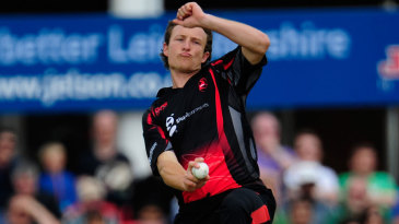 Anthony Ireland bowled a tidy spell of 1 for 24